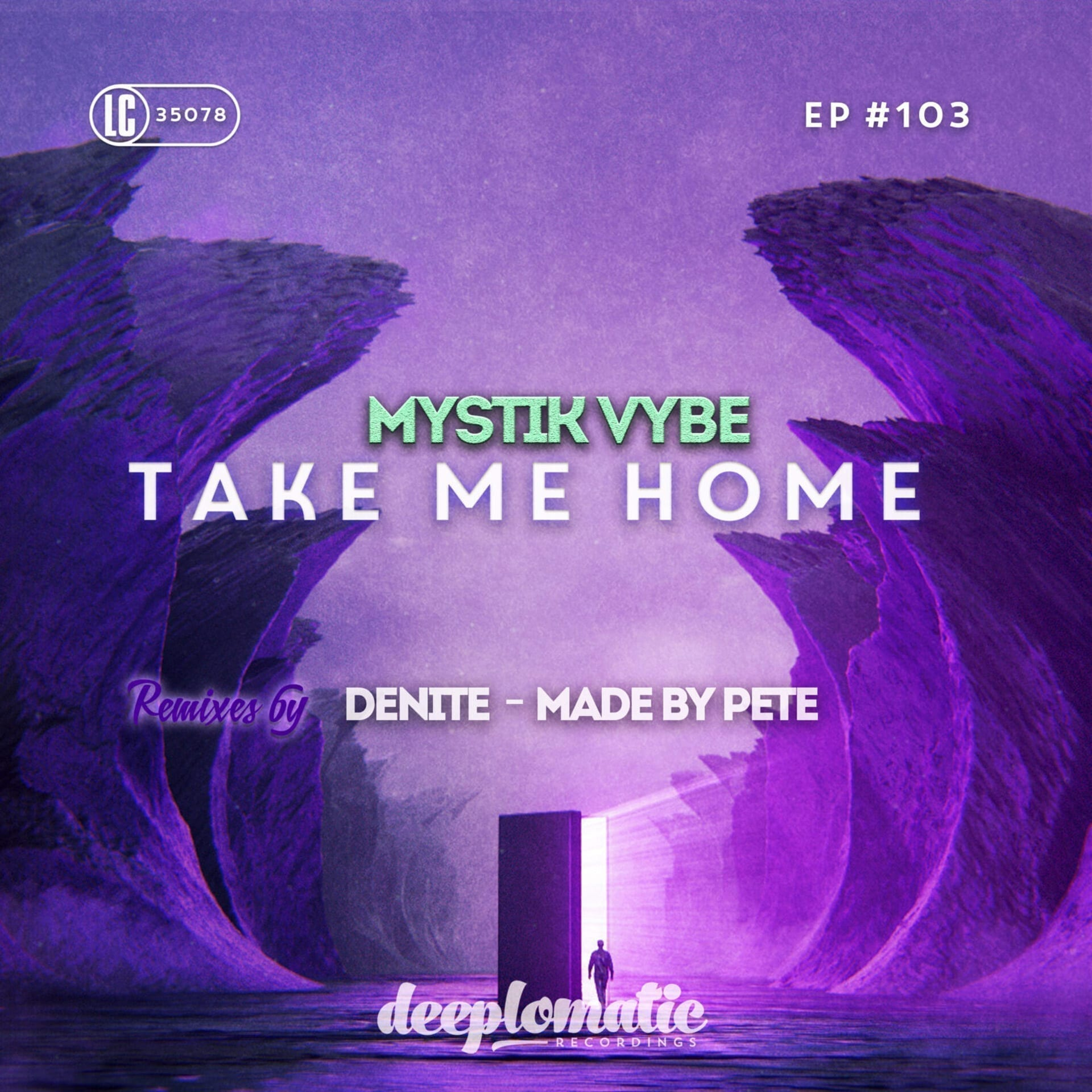 Mystik Vybe returns to Deeplomatic Recordings with a brand-new EP 'Take Me Home'