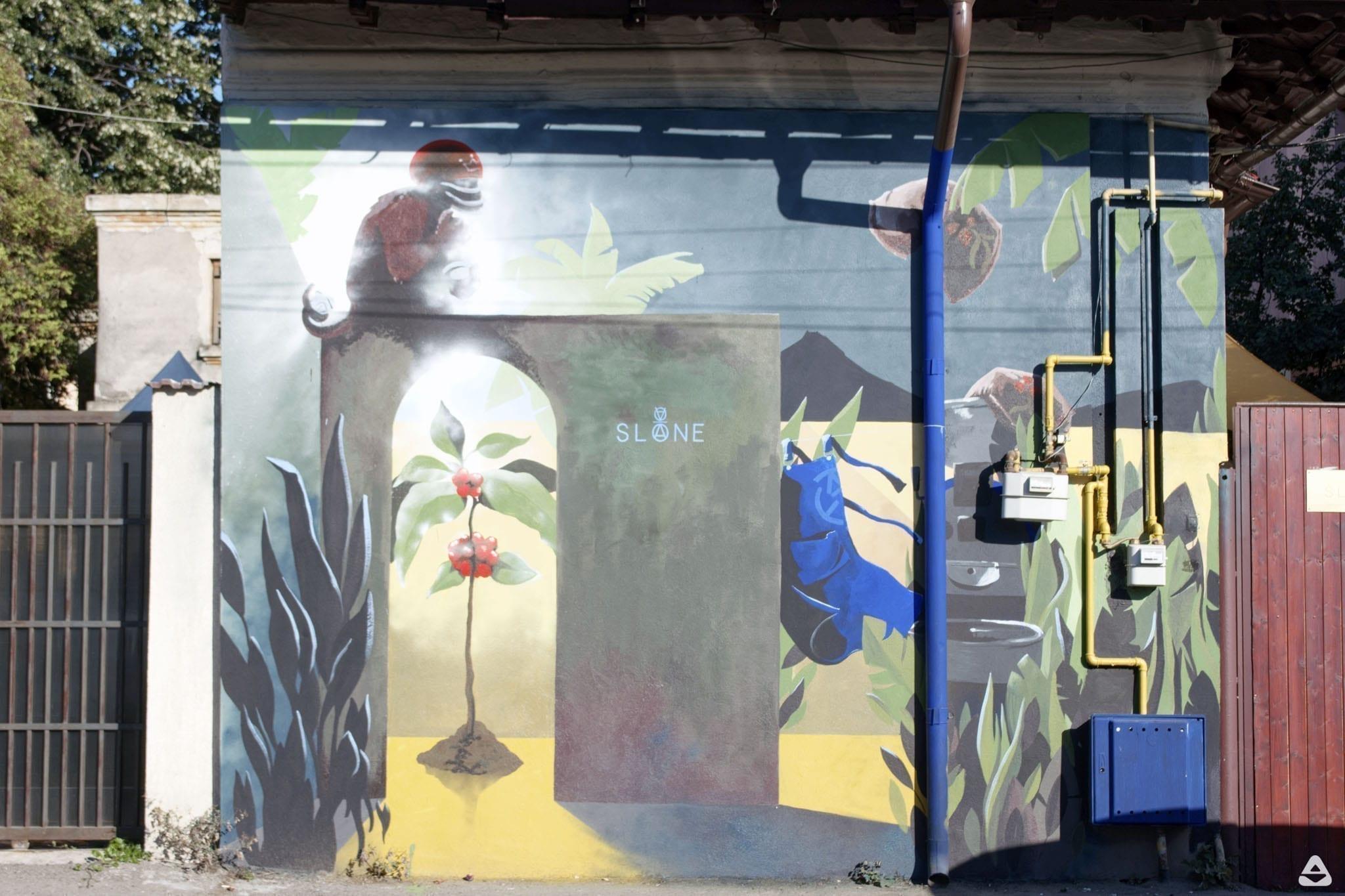 Que Nais - mural street art