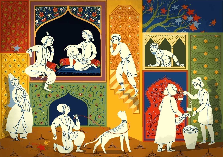 cultura orientala 1001 de nopti
