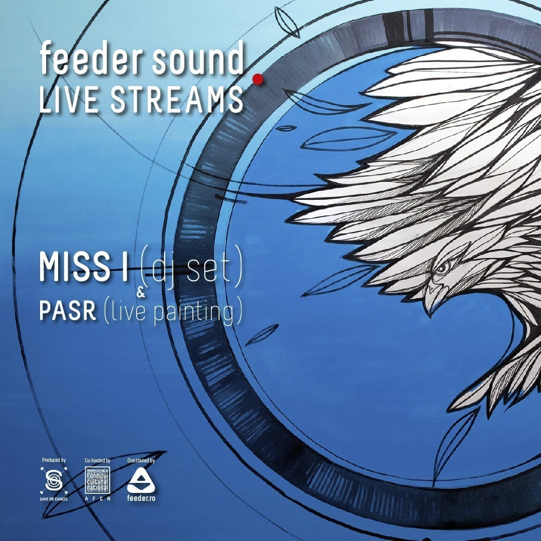 feeder sound LIVE with MISS I (dj set) & PASR (live painting)