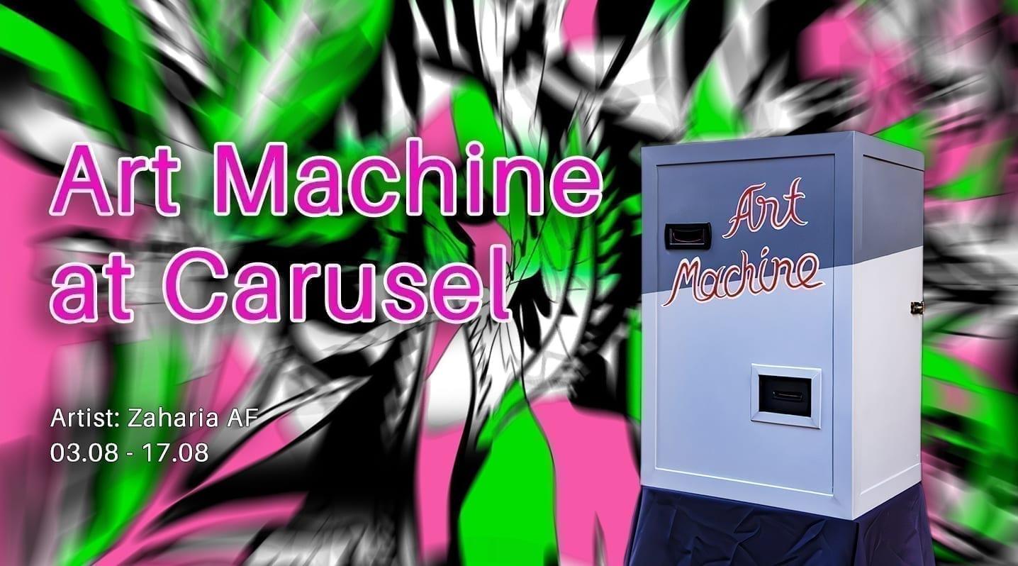 Art Machine @ Carturesti Carusel #2 Zaharia AF
