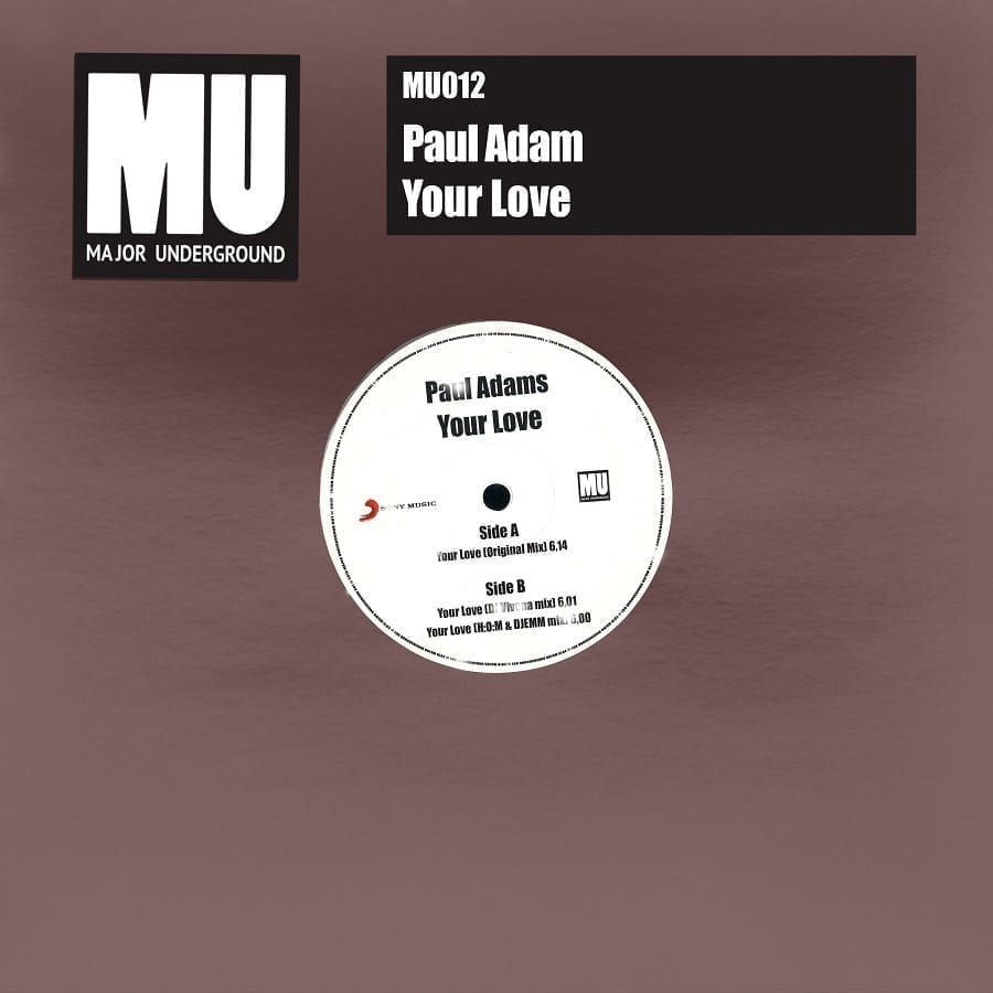 Paul Adam returns with the House banger 'Your Love'