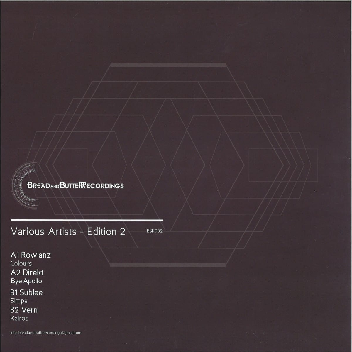 Various Artists - Edition 2 [Bread And Butter Recordings] 02