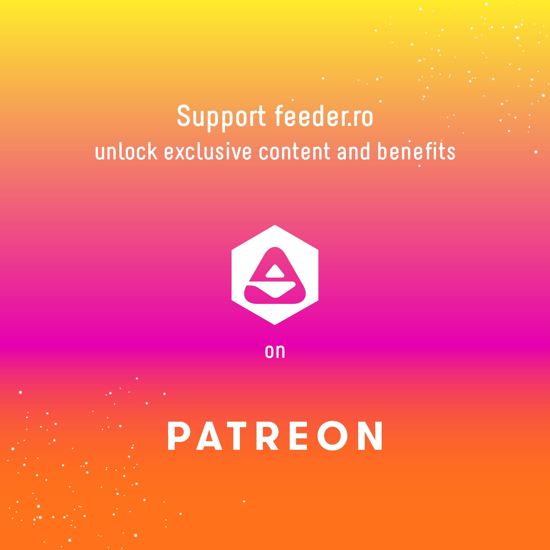 feeder patreon 2020 https://www.patreon.com/feeder