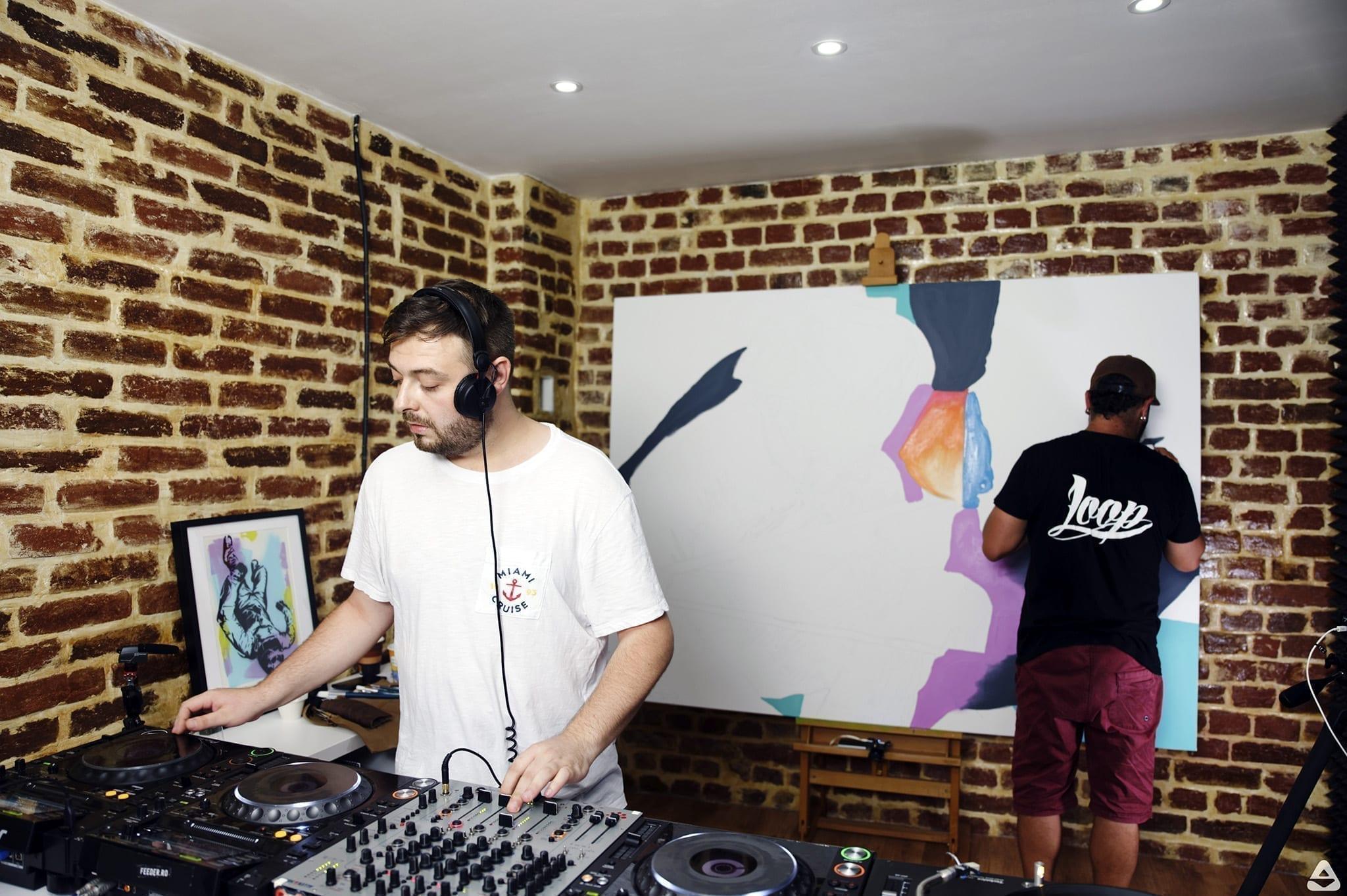 feeder sound live w Vlad Arapasu & John Dot S