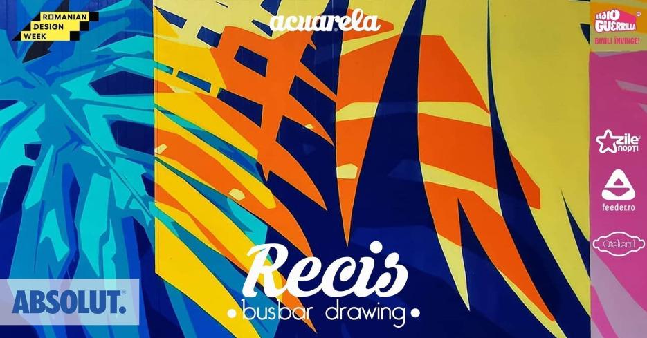 Acuarela Busbar Drawing RECIS