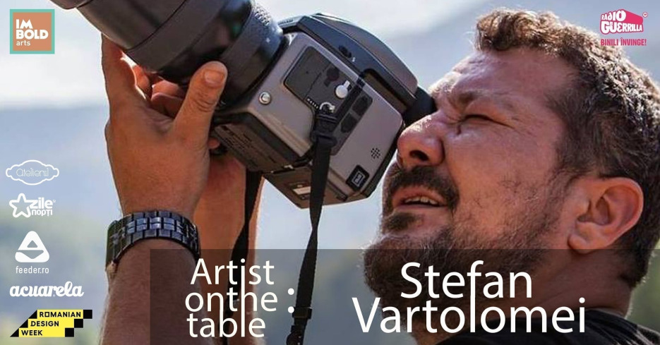 Artist on the table - Ștefan Vartolomei