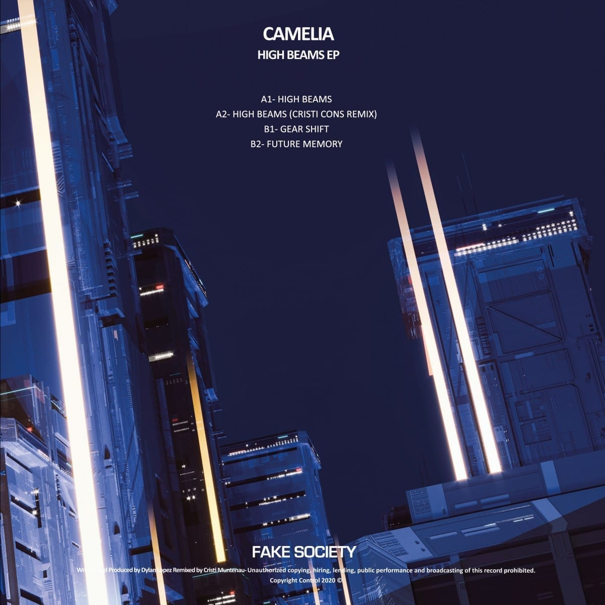 Camelia - High Beams EP [Fake Society] 02