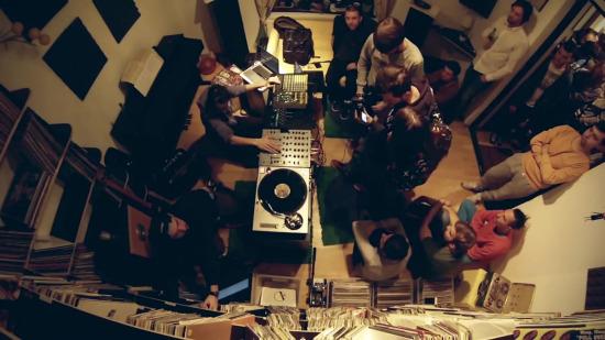 G76 și Vlad Caia @ Misbits Record Shop copy