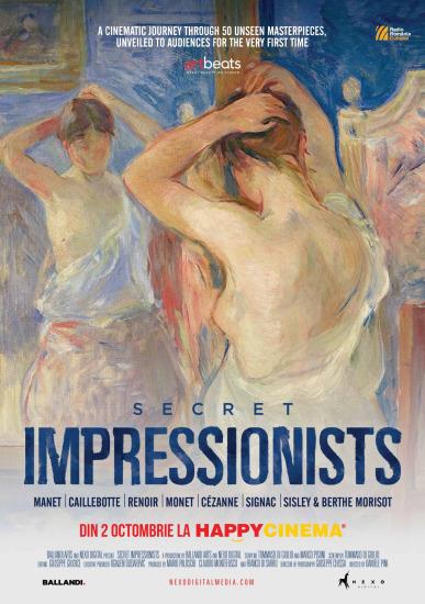 Secret Impressionists / Impresioniști secreți în premieră la Happy Cinema București