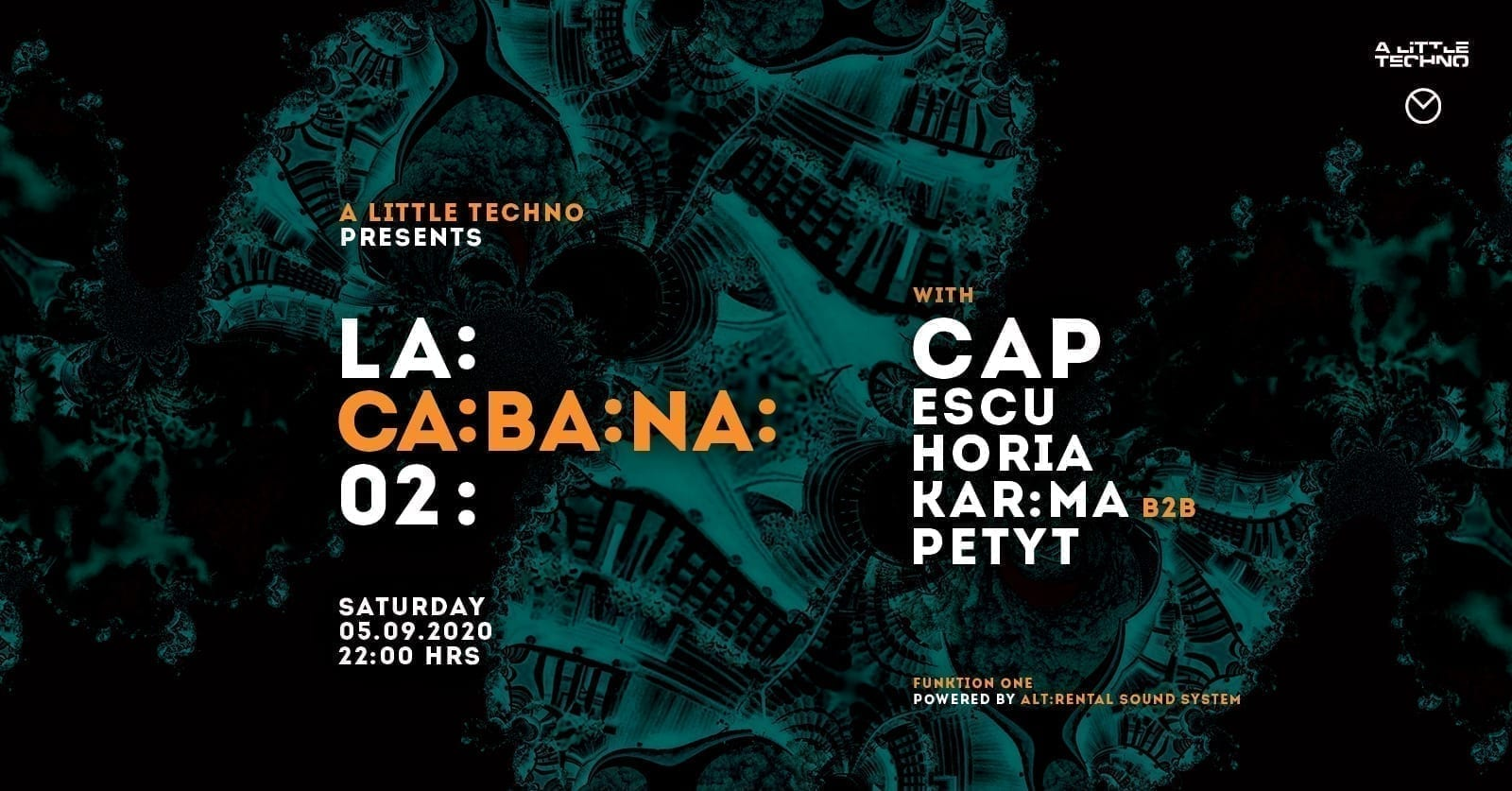 LA:CA:BA:NA 02. with Cap, Escu, Horia, Kar:ma b2b Pety