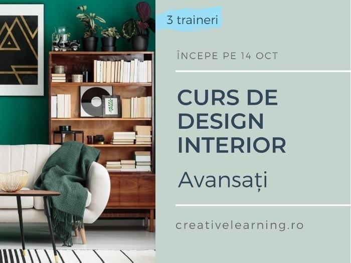 Curs Design Interior pentru avansați cu Designist.ro