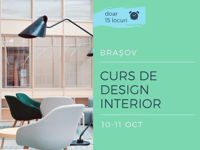 Cursul se adresează pasionaților de design interior