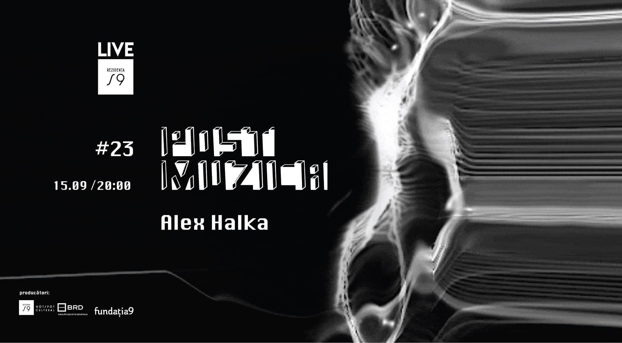 Post Muzica 23 cu Alex Halka