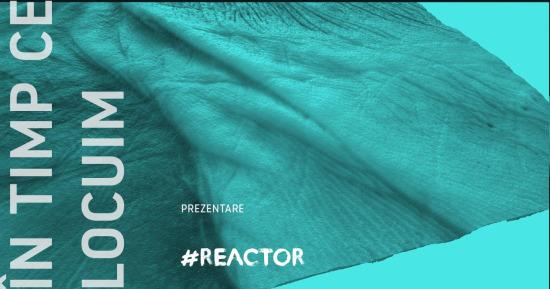 În timp ce locuim instalație performativă online Reactor