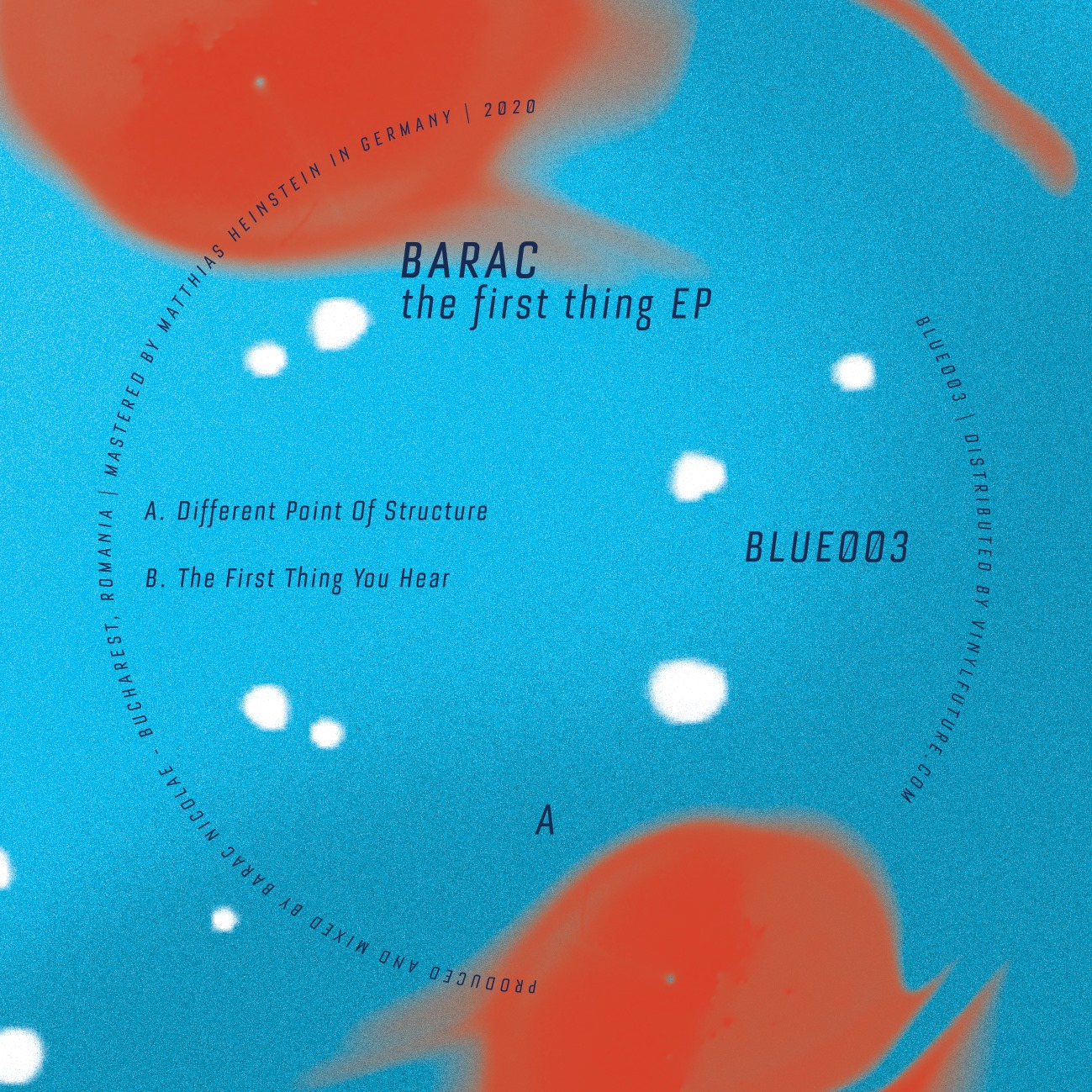 Barac - The First Thing EP [Blue] 001