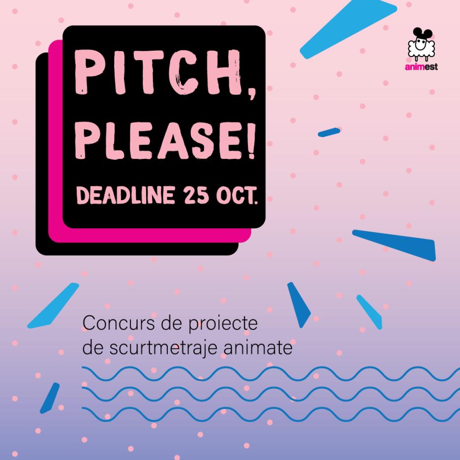Pitch, please! Concursul de proiecte de scurtmetraje animate continuă la Animest.15