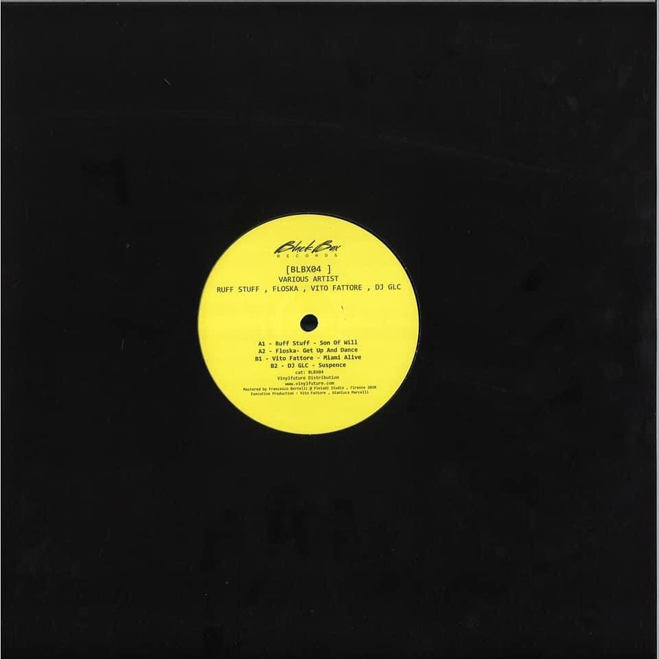 Black Box Records Curates BLBX04, a Collection From Various Artists (Ruff Stuff, Floska, Vito Fattore,DJ GLC)
