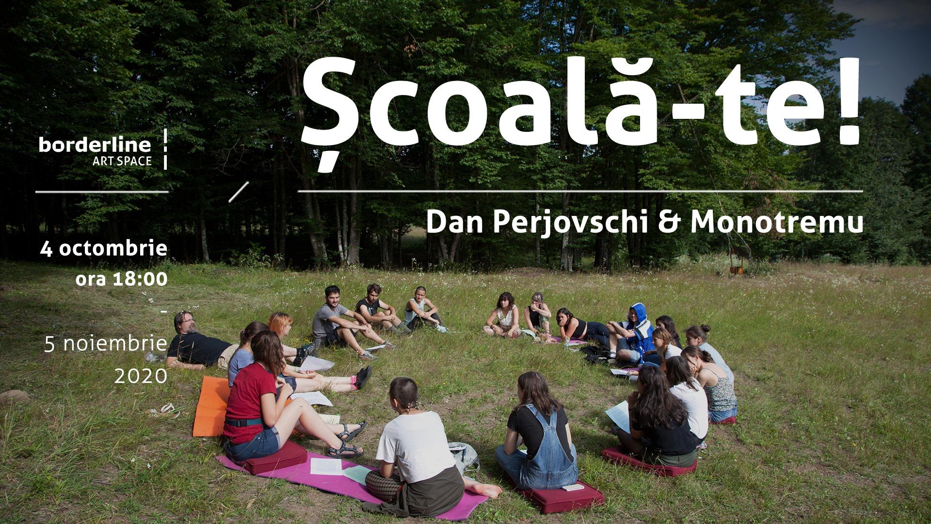 Dan Perjovschi Monotremu - Școală-te