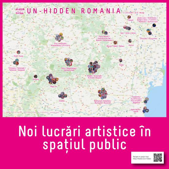 noi intervenții artistice independente din spațiul public