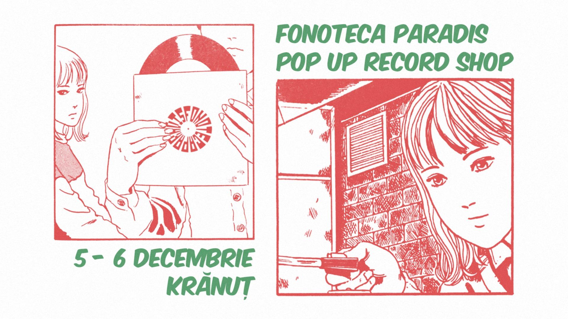 Fonoteca Paradis Pop-Up Record Shop