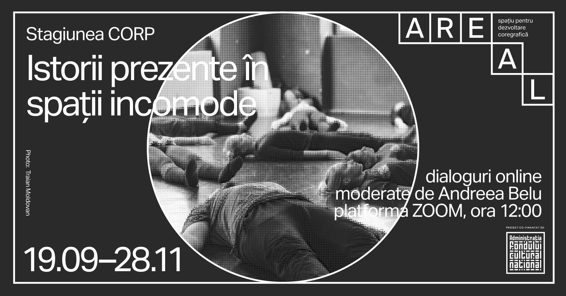 Istorii Prezente în spații incomode IV: Vlaicu Golcea / despre dans și alte cercetări