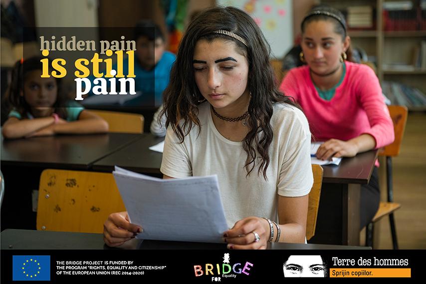 """Campania """"Hidden pain is still pain"""""""