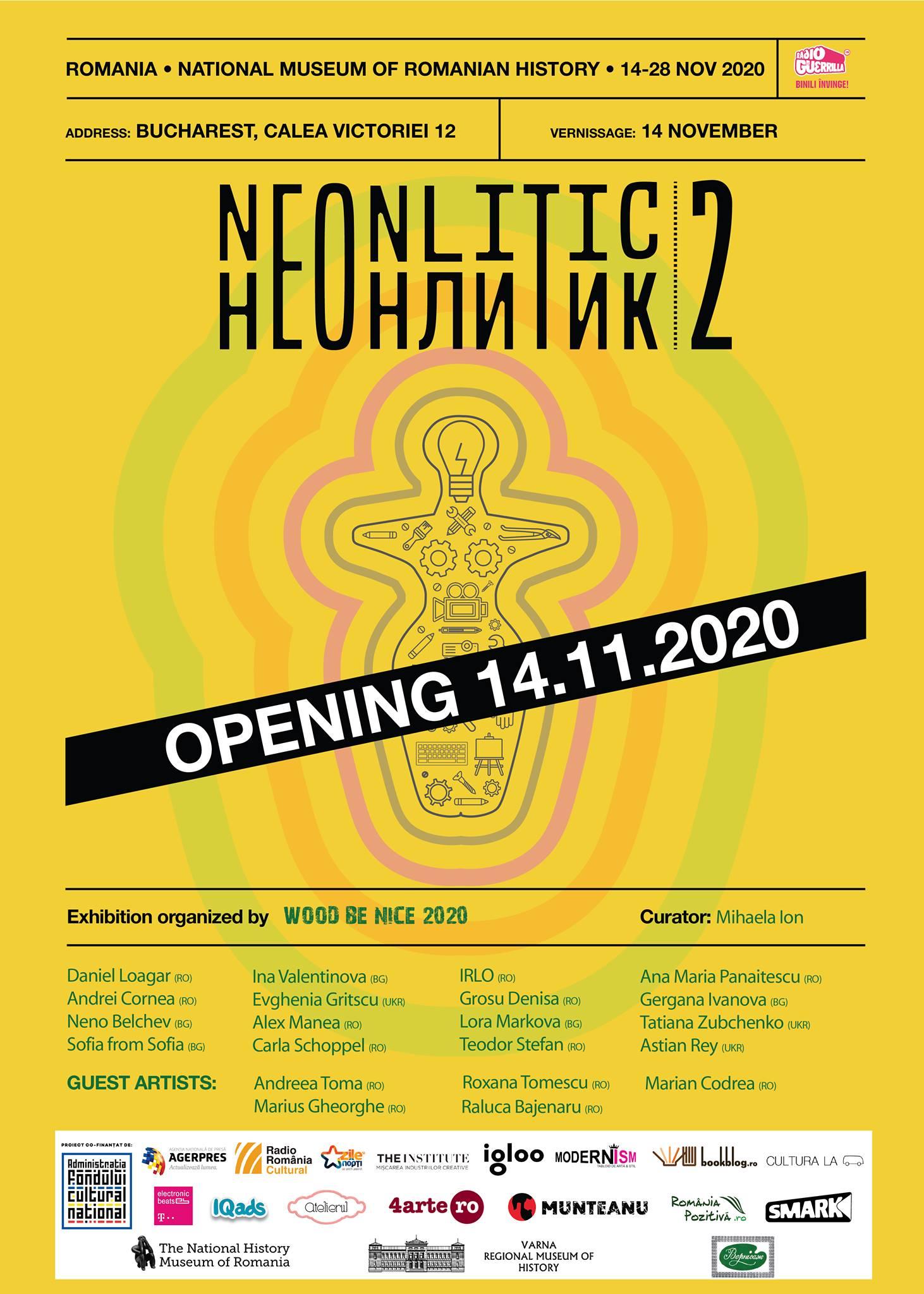 NeoNlitic 2.0, între 14 – 28 noiembrie la Muzeul Național de Istorie din București