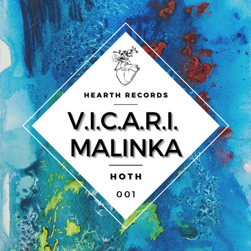Malinka is back with V.I.C.A.R.I. to introduce her new label, Hearth Records