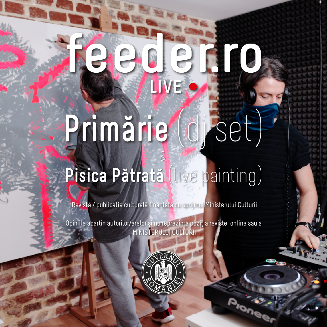 feeder sound LIVE with Primarie (dj set) & Pisica Patrata (live painting)