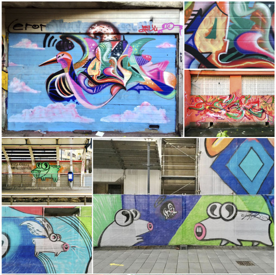AEUL - from graffiti to canvas painting