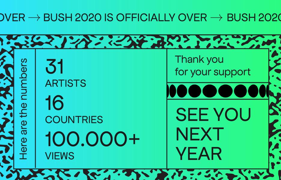 BUSH Festival announces this year's winners