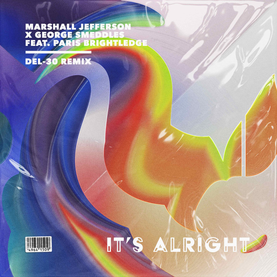 Del-30 remixes Marshall Jefferson, George Smeddles & Paris Brightledge single 'It's Alright'