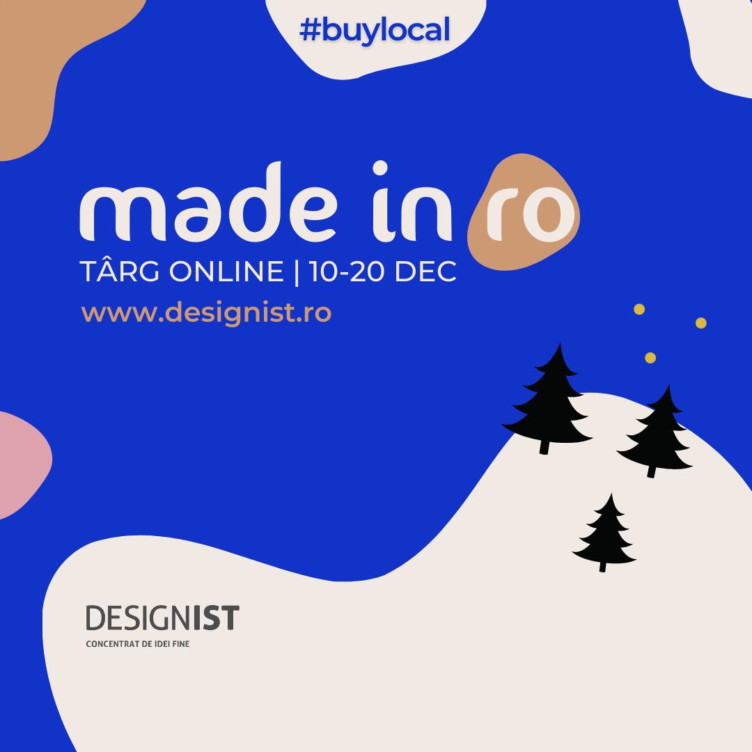 Târgul online Made in RO se derulează până pe 20 decembrie: mai ai câteva zile pentru Xmas shopping