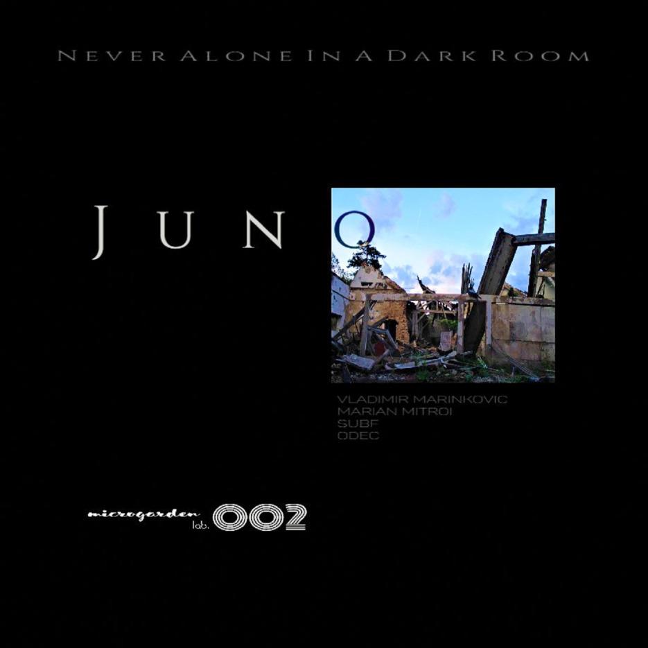 Never Alone In A Dark Room - JUNO EP [Microgarden lab.]