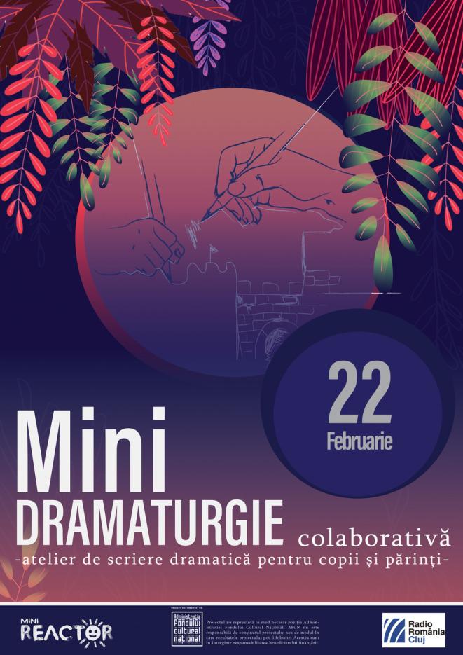 Apel de participare - MiniDRAMATURGIE colaborativă
