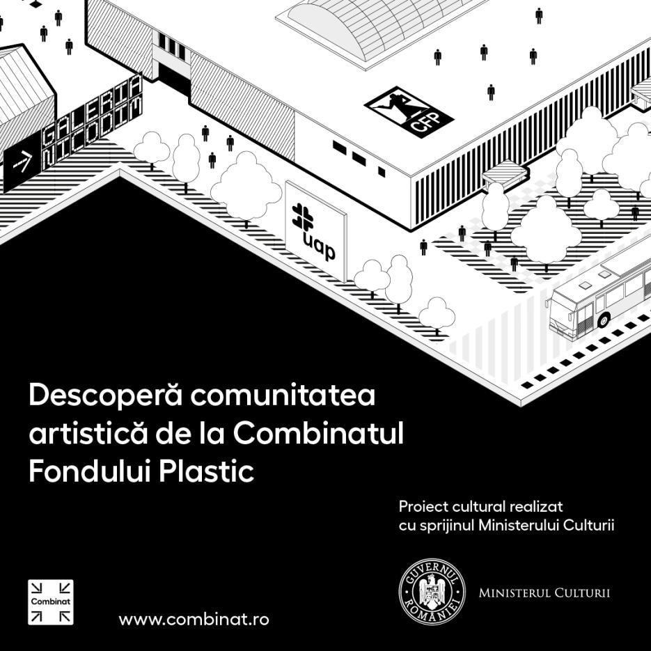 Se lansează Combinat - un microsite despre comunitatea artistică și creativă a Combinatului Fondului Plastic din București