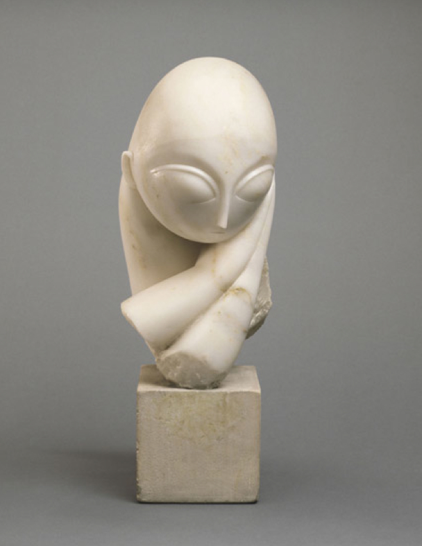 Constantin Brancusi, Portrait of Mlle Pogany, 1912, Philadelphia Museum of Modern Art