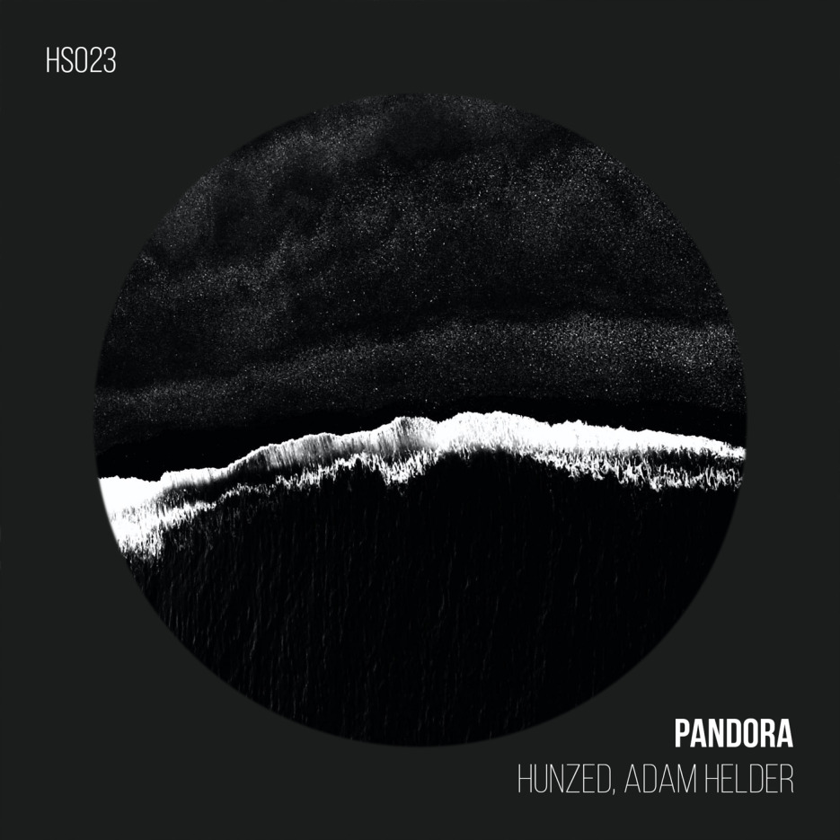 "Hunzed presents a new Techno ep in collaboration with Adam Helder, titled ""Pandora"""