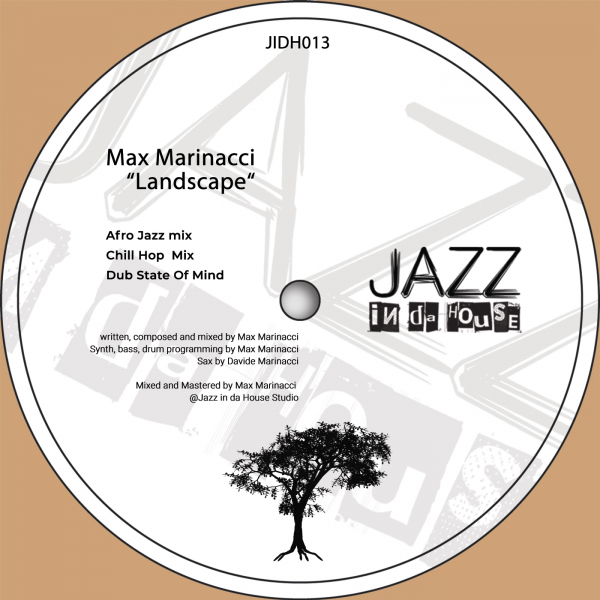Max Marinacci releases new single 'Landscape' on Jazz in da House