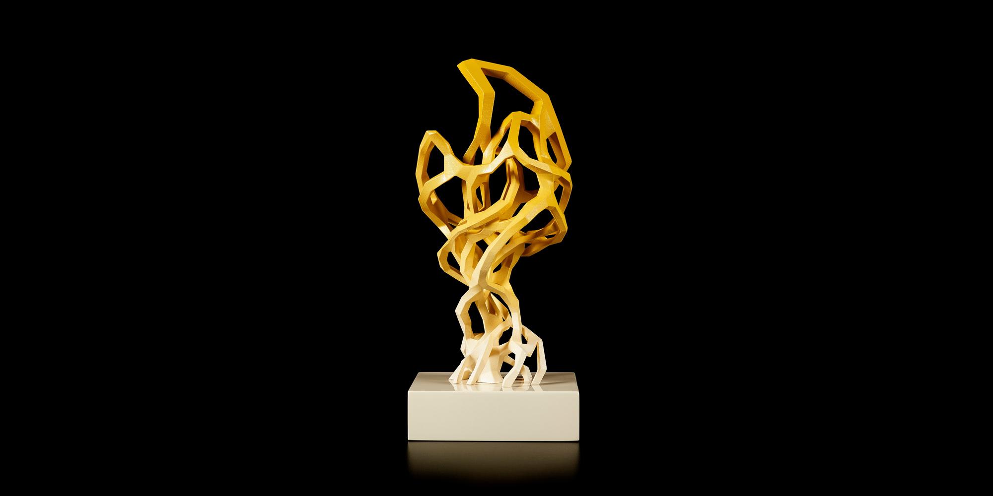STARTS Prize Trophy by Nick Ervinck. Credit: Peter Verplancke