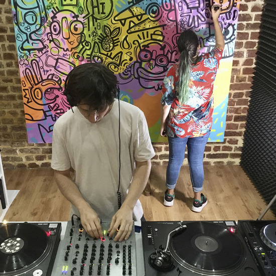 feeder sound LIVE stream Dan Andrei & Serebe 01