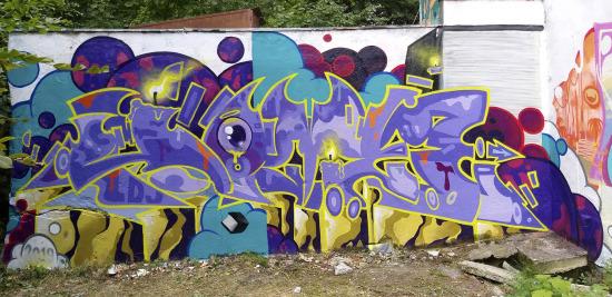 2019 HOMEBOY LDJ graffit in Brașov