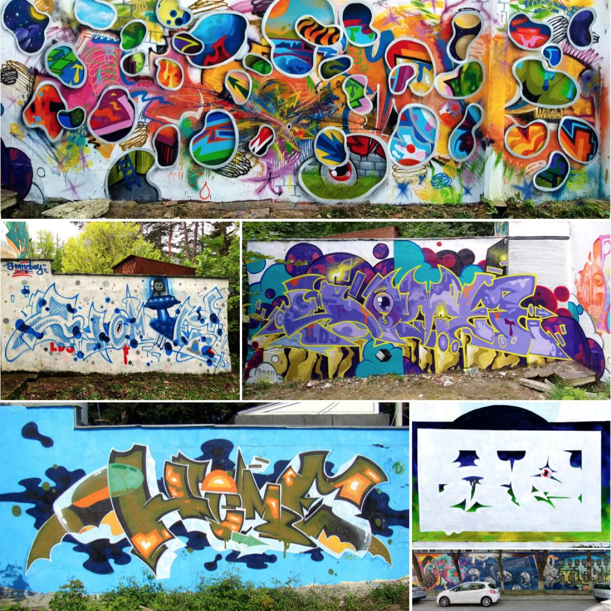 2021 HOMEBOY LDJ - graffiti lettering