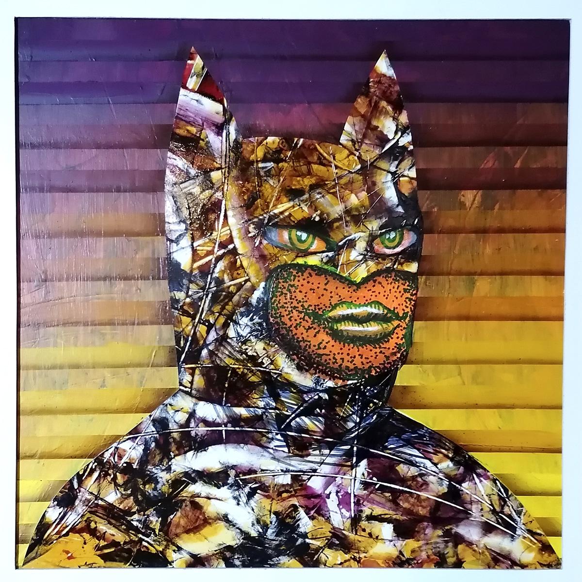 IRLO - Fatman, acrylic painting on canvas