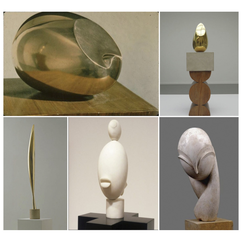 21 sculpturi ale lui Brâncuși revoluționează arta modernă