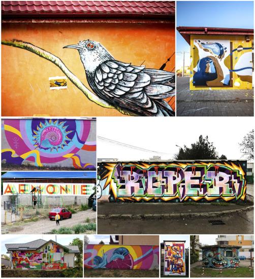Artă murală, street art și graffiti în Iași