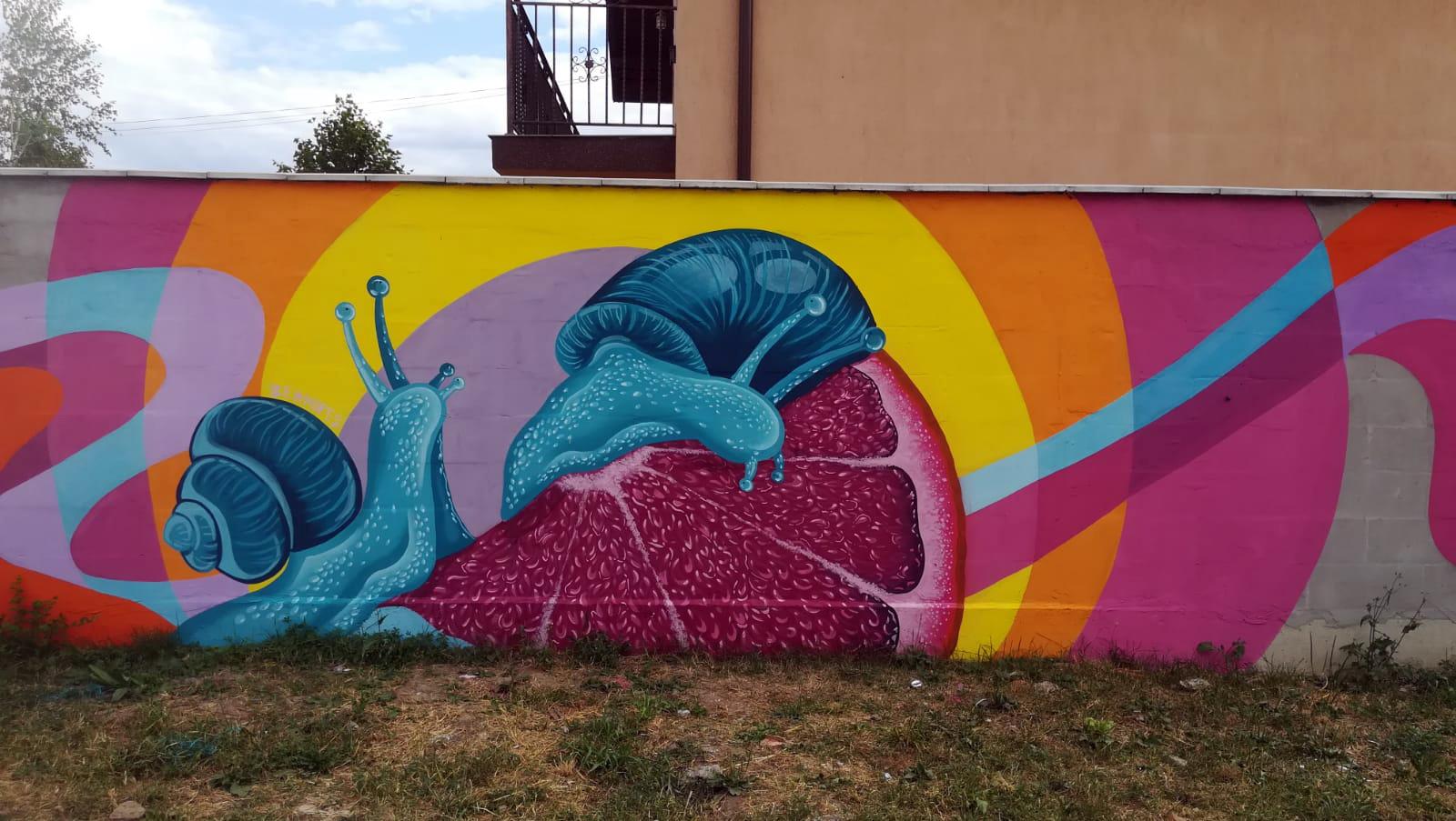 Bea Hopes / 2020  Caravana de Artă Urbană, Artipic association