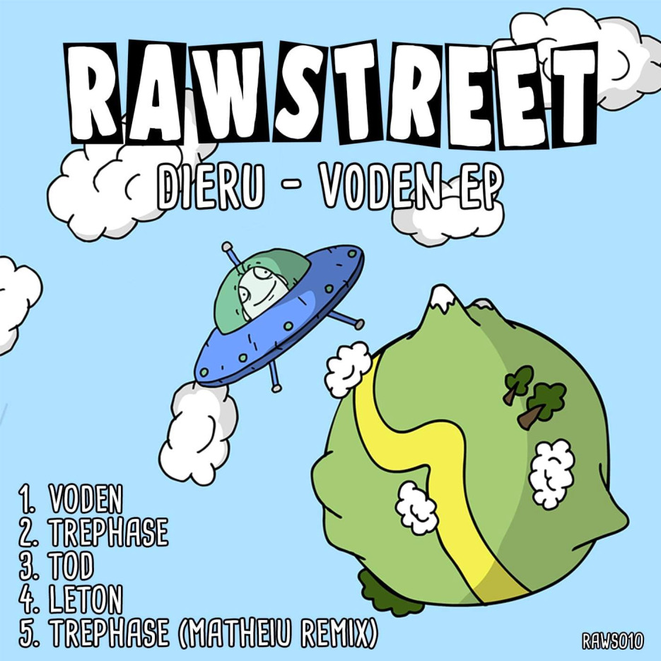 Dieru - Voden EP (incl. Matheiu Remix) [RAWSTREET]