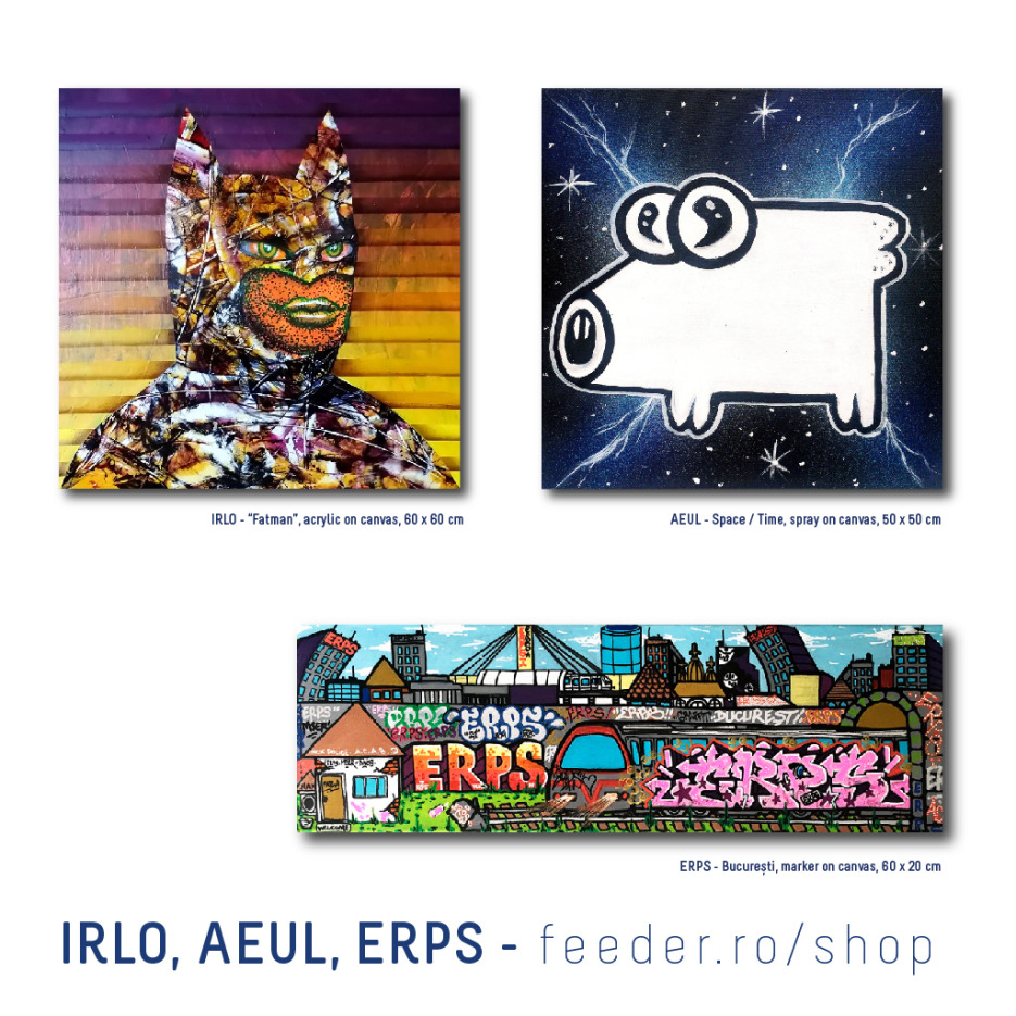 IRLO, AEUL, ERPS, feeder shop gallery